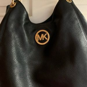 Authentic MK Black Bag. Like New, Used Twice.